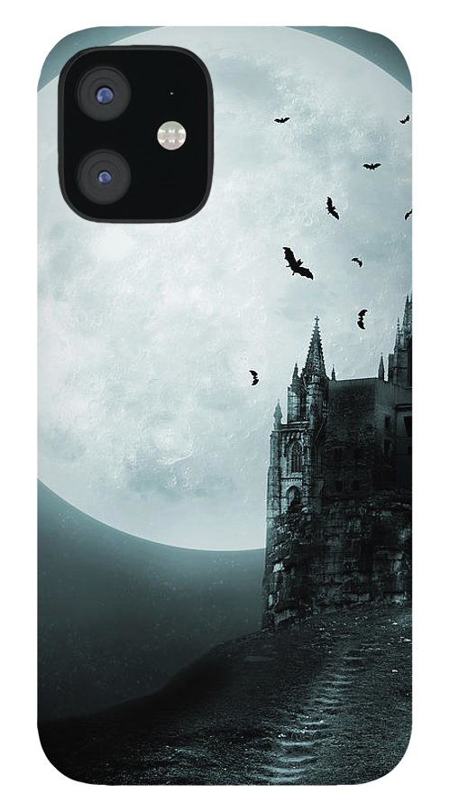 Gothic Style IPhone 12 Case featuring the photograph Old Castle by Vladgans