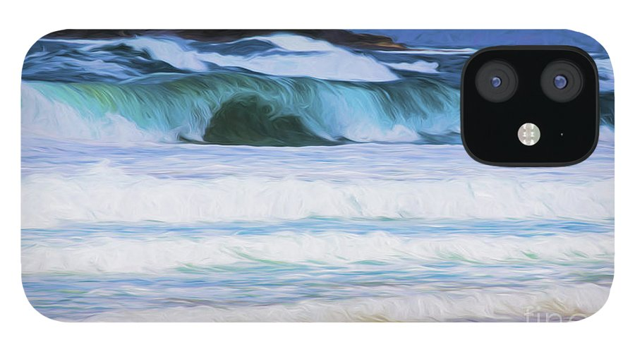 Surf iPhone 12 Case featuring the photograph Surfs up by Sheila Smart Fine Art Photography