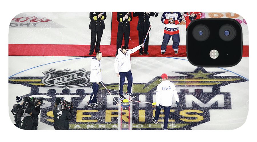 National Hockey League IPhone 12 Case featuring the photograph 2018 Coors Light Nhl Stadium Series - by Jeff Vinnick