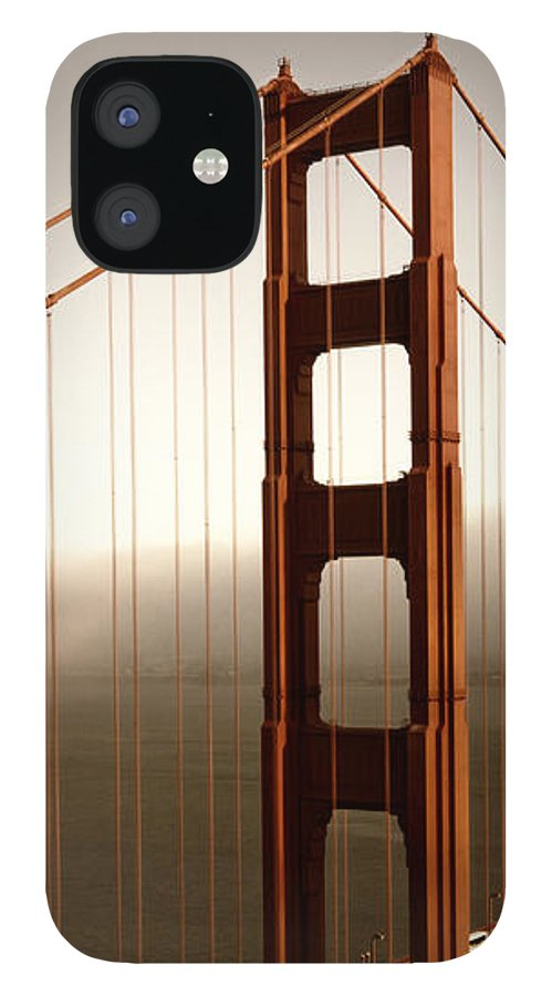America IPhone 12 Case featuring the photograph Lovely Golden Gate Bridge by Melanie Viola