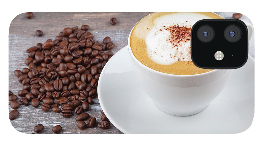 Cappuccino IPhone 12 Case featuring the photograph Coffee by Focusstock