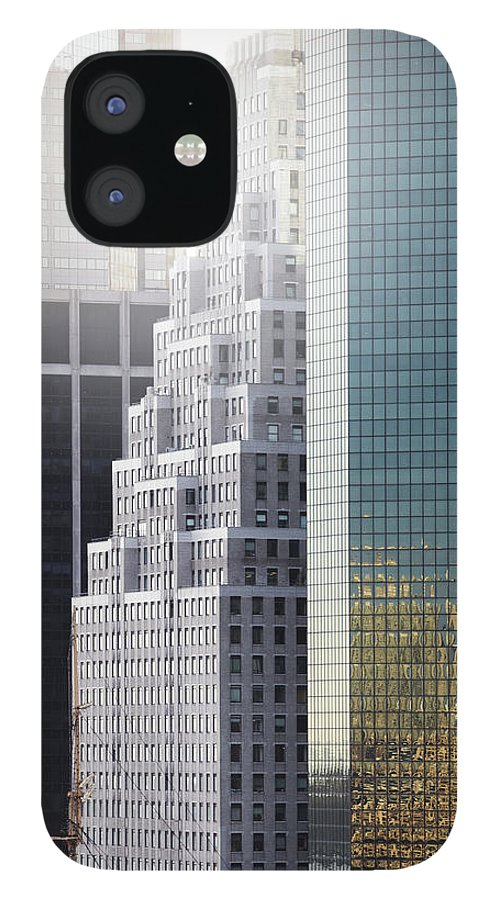 Tranquility IPhone 12 Case featuring the photograph New York by Henrik Sorensen