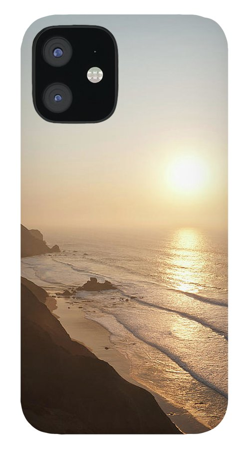 Algarve iPhone 12 Case featuring the photograph Portugal, Algarve, Sagres, View Of by Westend61