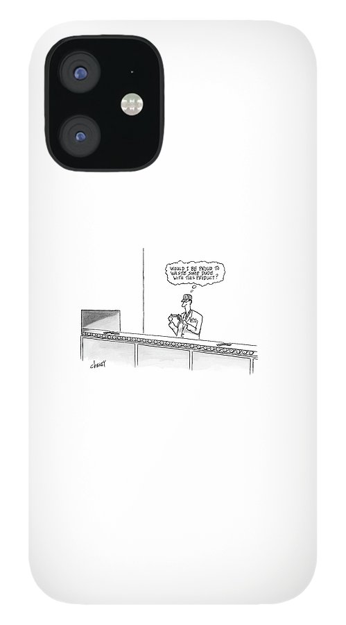 New Yorker May 16th, 2005 IPhone 12 Case
