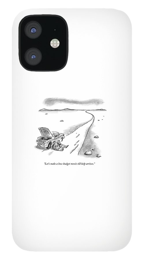 Let's Make A Low-budget Movie Till Help Arrives IPhone 12 Case