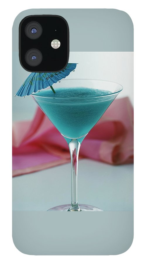 A Blue Hawaiian Cocktail IPhone 12 Case
