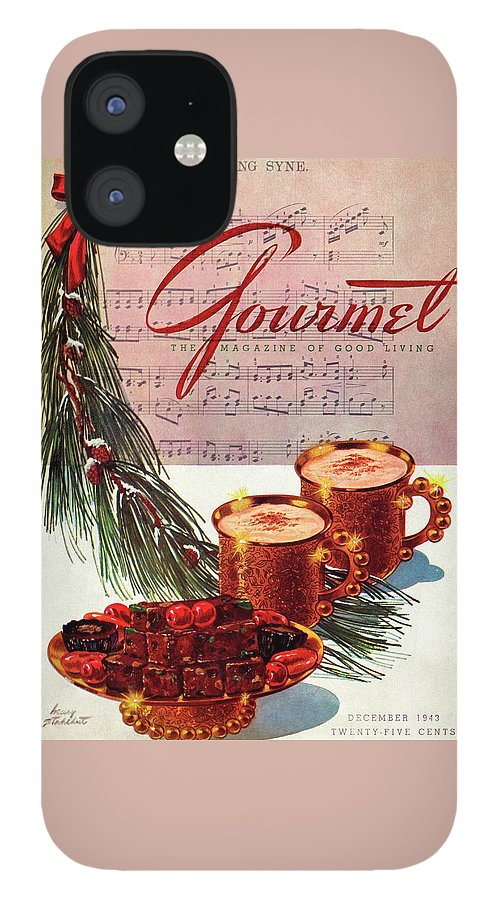 A Christmas Gourmet Cover IPhone Case