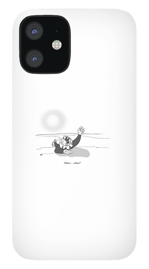A Clown Crawls Through The Desert IPhone 12 Case