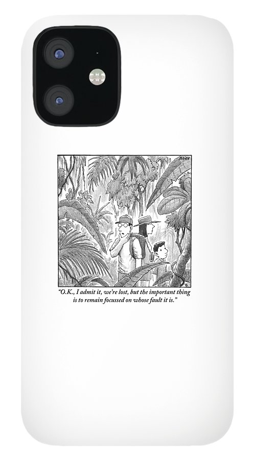 A Family Is Lost In The Depths Of A Jungle IPhone 12 Case