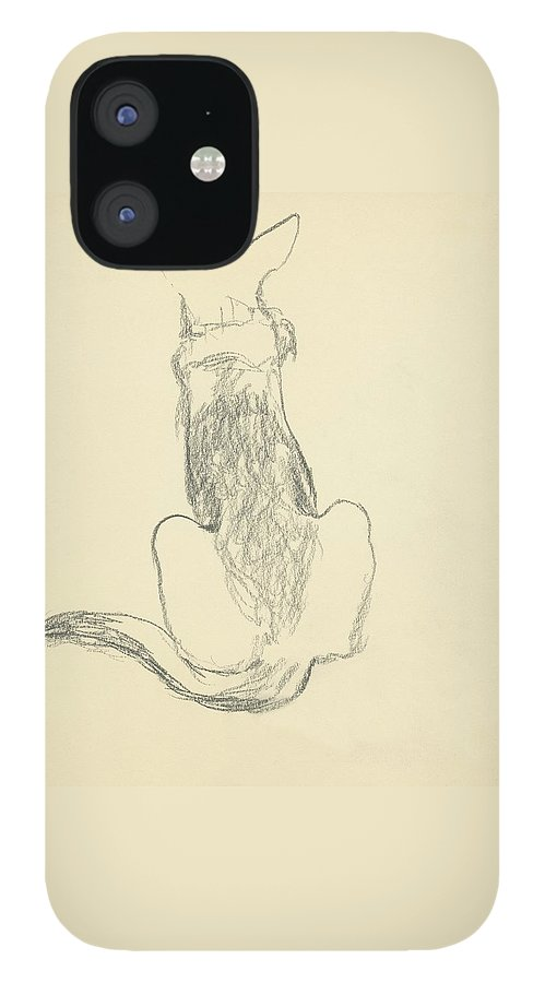 A German Shepherd IPhone 12 Case