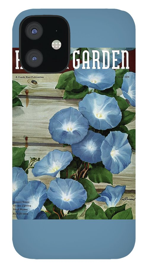 A House And Garden Cover Of Flowers IPhone 12 Case