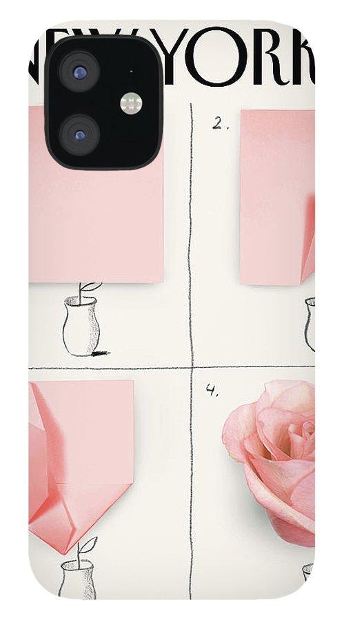 A Rose IPhone 12 Case