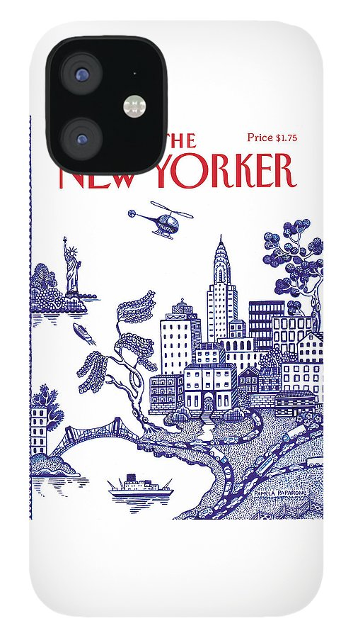 New Yorker July 23, 1990 IPhone 12 Case