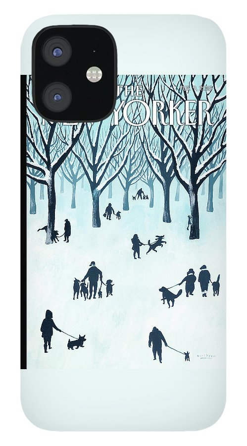 A Walk In The Snow IPhone 12 Case