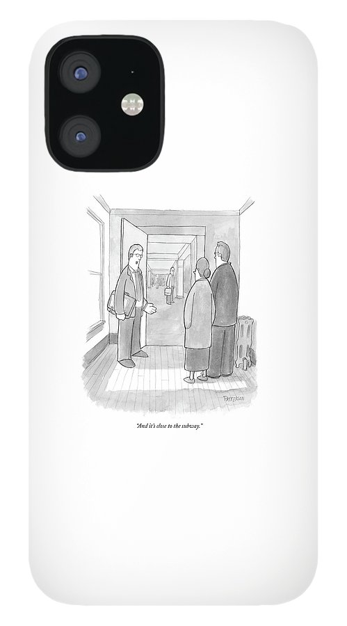 And It's Close To The Subway IPhone 12 Case