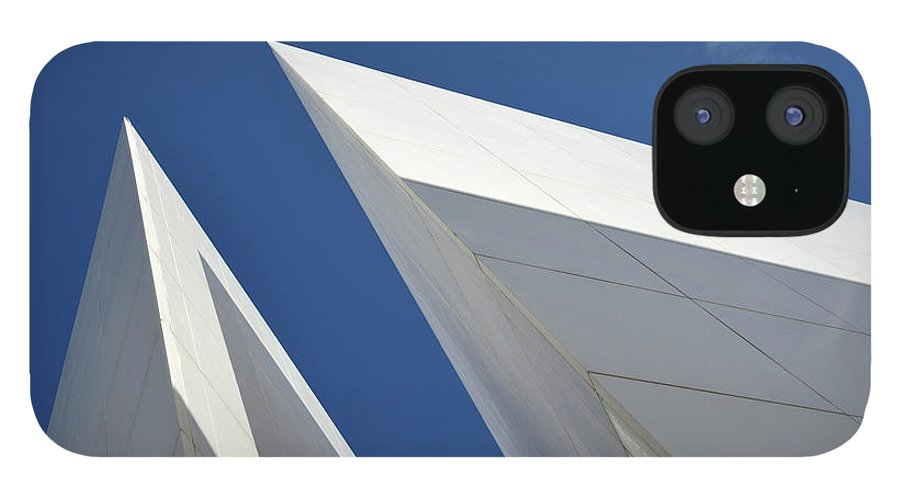 Tranquility IPhone 12 Case featuring the photograph Architectural Details by Martial Colomb