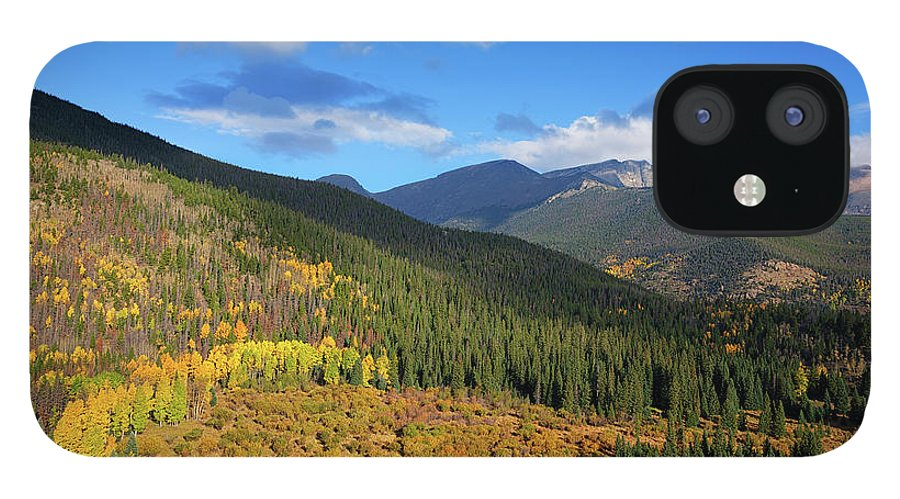 Scenics IPhone 12 Case featuring the photograph Autumn Color In Colorado Rockies by A L Christensen