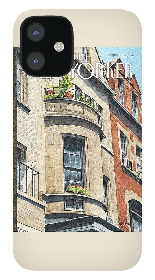 Balcony Scene IPhone Case