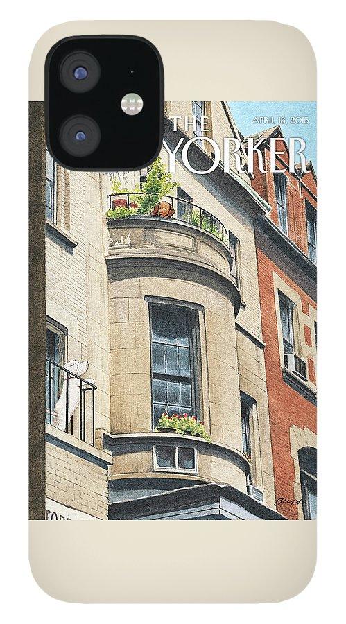 Balcony Scene IPhone 12 Case