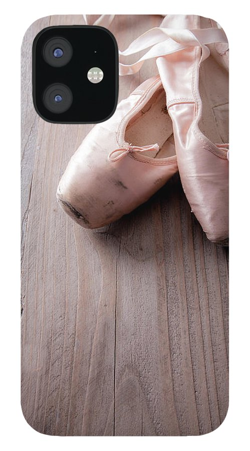 Two Objects IPhone 12 Case featuring the photograph Ballet Slippers by Bill Oxford