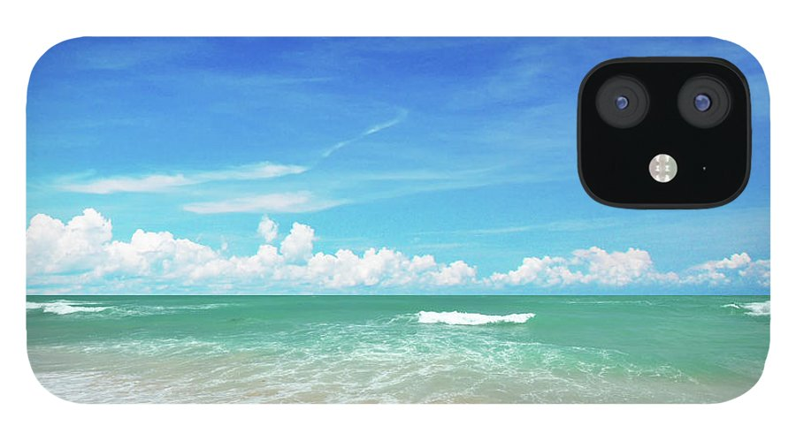 Tranquility IPhone 12 Case featuring the photograph Beach by Photo By Arztsamui