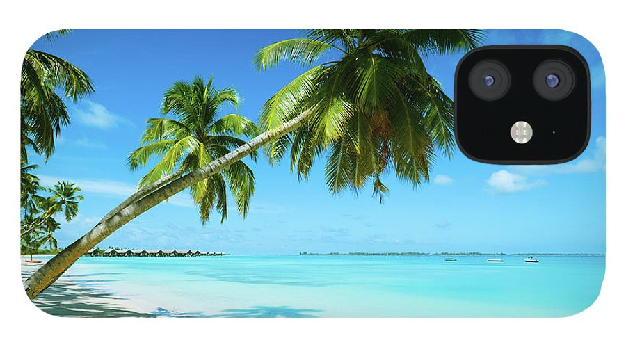 Water's Edge IPhone 12 Case featuring the photograph Beautiful Beach Resort by Phototalk