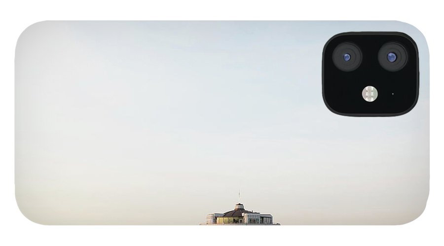 Tranquility IPhone 12 Case featuring the photograph Belgium, Blankenberge, View Of Pier At by Westend61