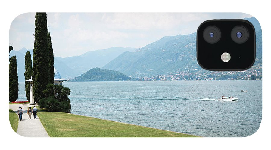 Tranquility IPhone 12 Case featuring the photograph Bellagio, Lake Como, Lombardy, Italy by Tim E White