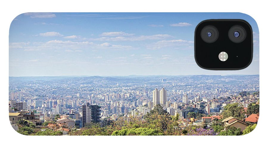 Tranquility IPhone 12 Case featuring the photograph Belo Horizonte by Antonello