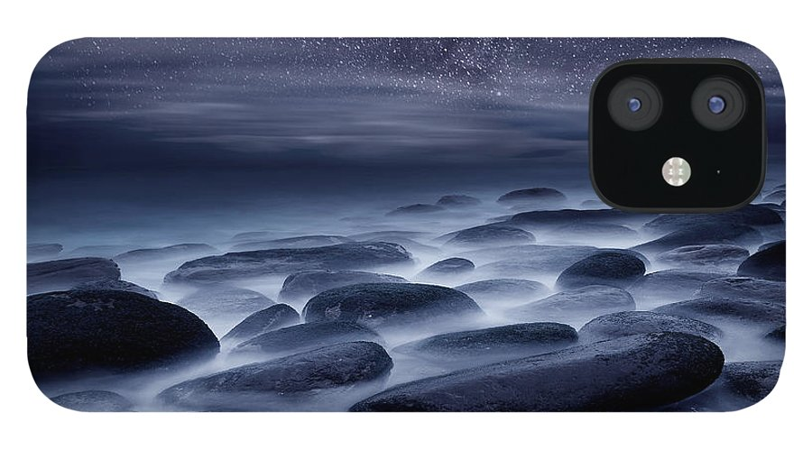 Night IPhone 12 Case featuring the photograph Beyond our Imagination by Jorge Maia