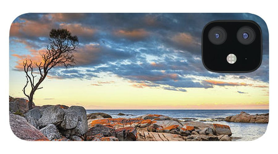 Scenics iPhone 12 Case featuring the photograph Binalong Bay by Bruce Hood