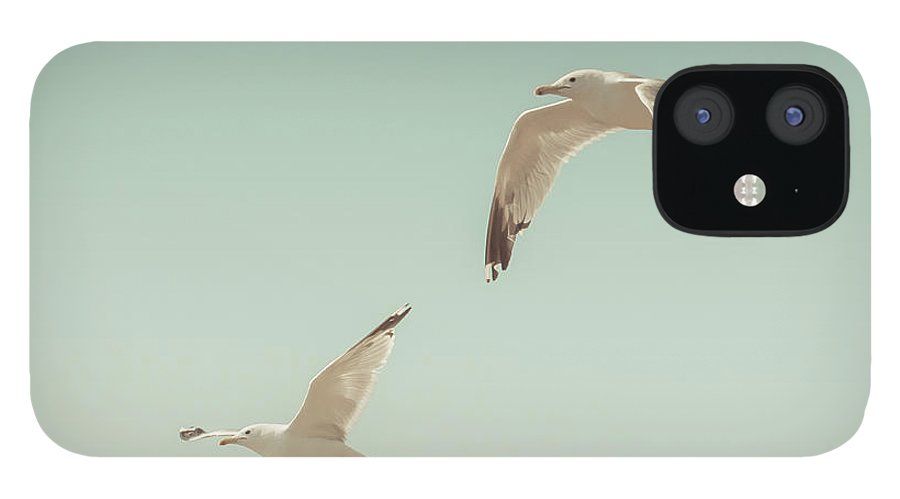 Art IPhone 12 Case featuring the photograph Birds of A Feather by Lucid Mood