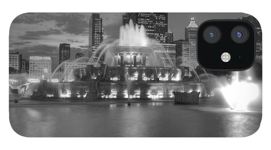 Hdr IPhone 12 Case featuring the photograph Black and White Buckingham by David Bearden