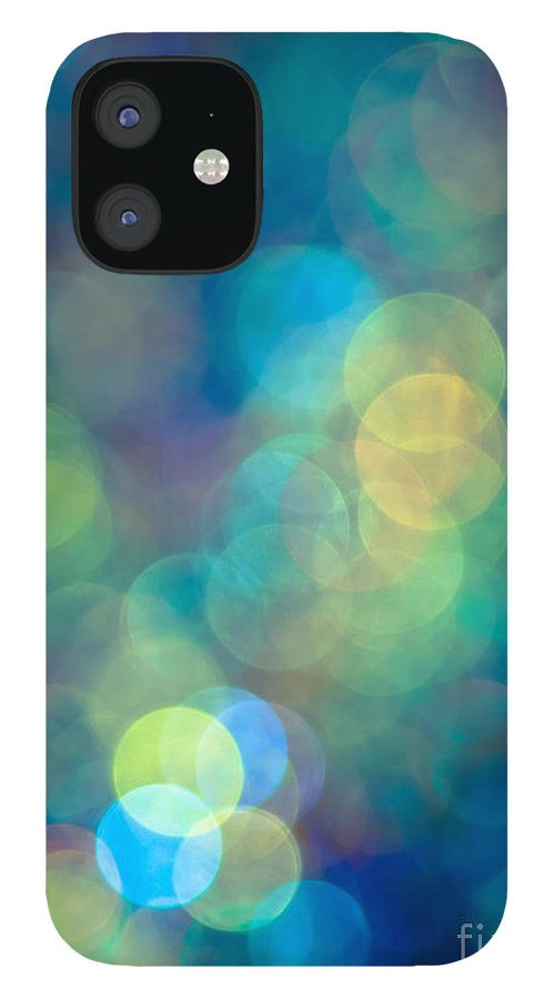Sparkle Lights IPhone 12 Case featuring the photograph Blue of the Night by Jan Bickerton