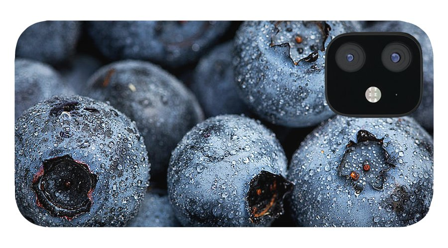 Surrey IPhone 12 Case featuring the photograph Blueberries Fruits by Kevin Van Der Leek Photography