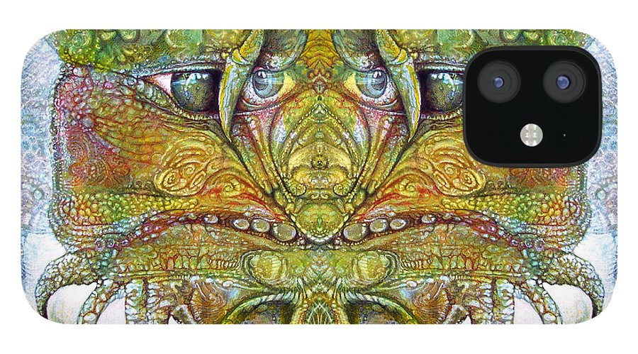\bogomil Variations\ \otto Rapp\ \ Michael F Wolik\ IPhone 12 Case featuring the digital art Bogomil Variation 11 by Otto Rapp