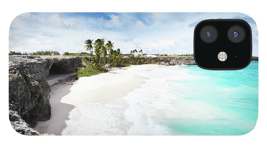 Scenics iPhone 12 Case featuring the photograph Bottom Bay, Barbados by Tomml