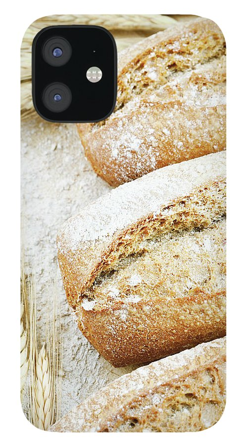 Breakfast IPhone 12 Case featuring the photograph Bread by Cactusoup