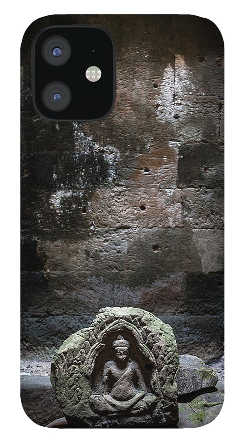 Tranquility IPhone 12 Case featuring the photograph Budha by Www.sergiodiaz.net