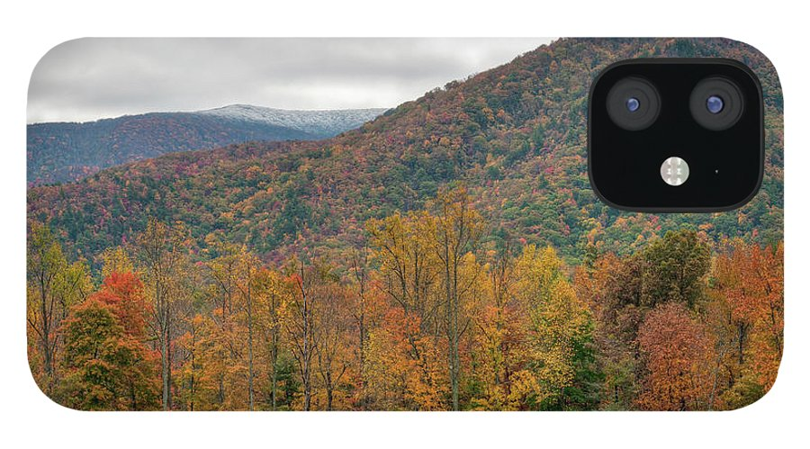 Scenics IPhone 12 Case featuring the photograph Cades Cove, Great Smoky Mountains by Fotomonkee