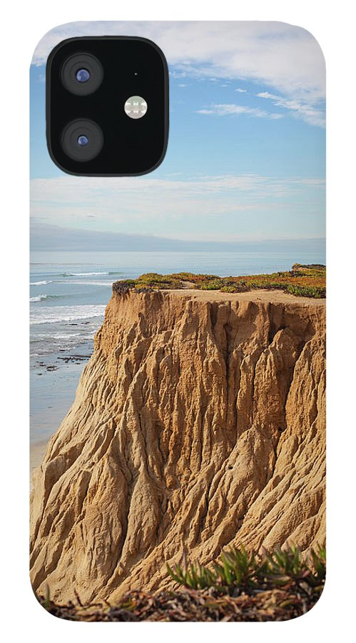 Water's Edge iPhone 12 Case featuring the photograph California Coast by Bill Oxford