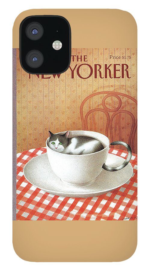 New Yorker January 6, 1992 IPhone 12 Case