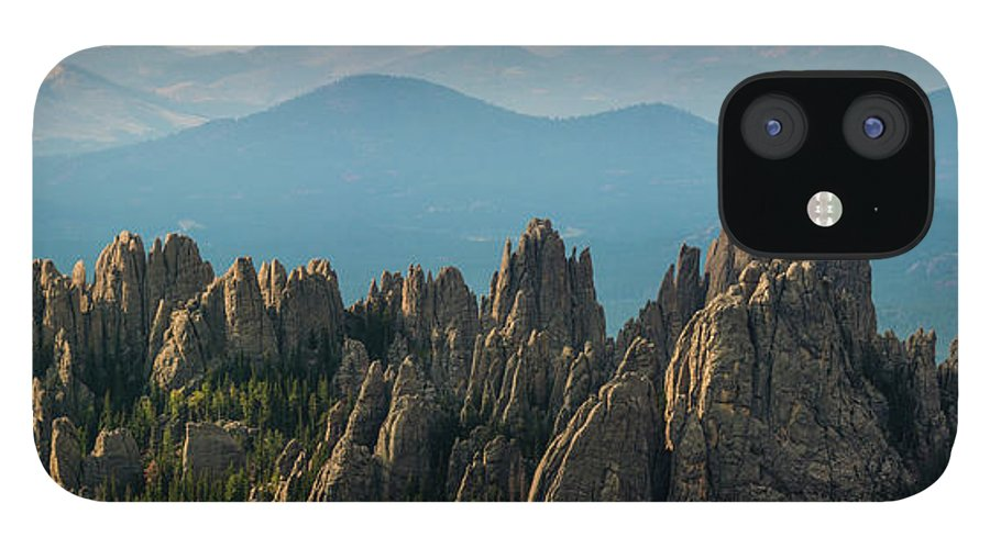 Scenics IPhone 12 Case featuring the photograph Cathedral Spires by Daniel J Barr