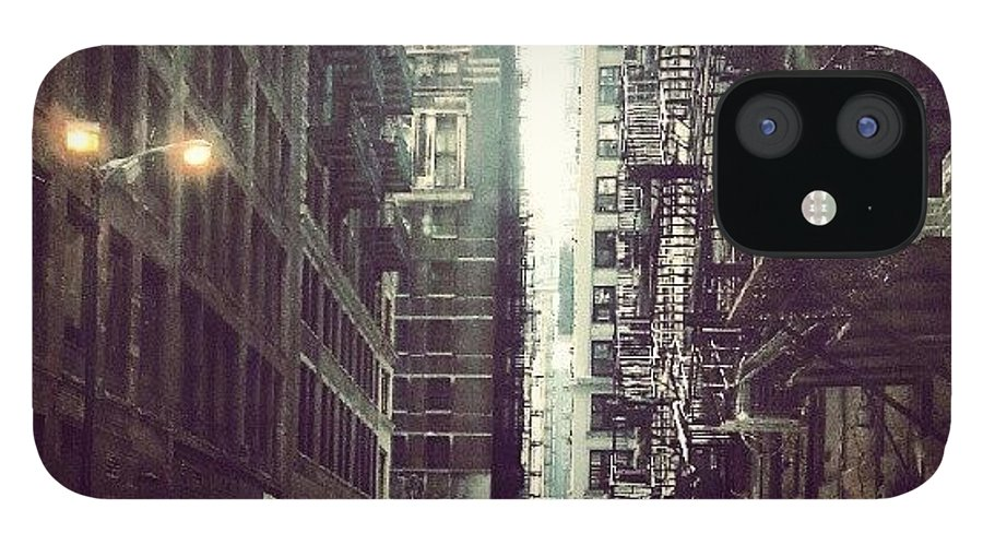 Chicago IPhone 12 Case featuring the photograph Chicago Alleyway by Jill Tuinier