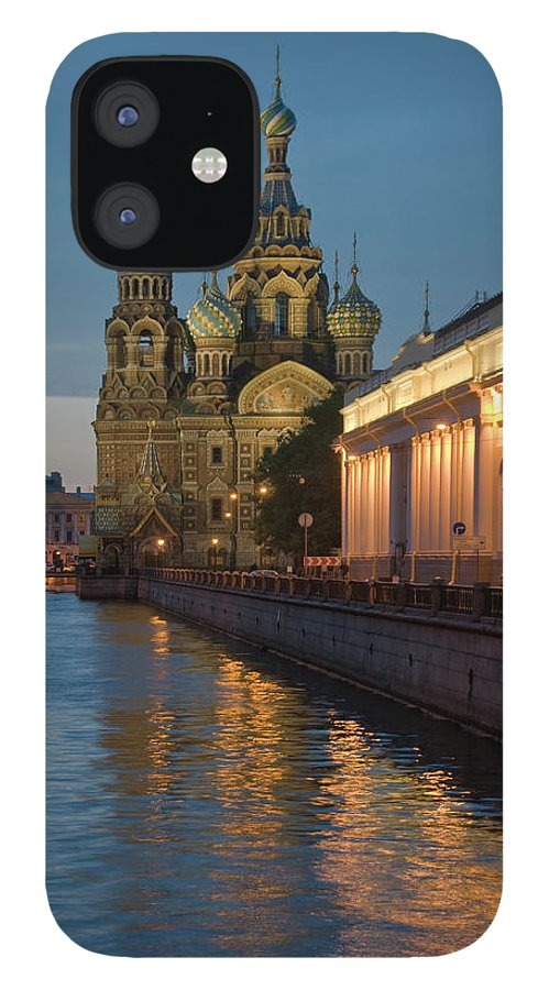 Built Structure IPhone 12 Case featuring the photograph Church Of The Saviour On Spilled Blood by Izzet Keribar