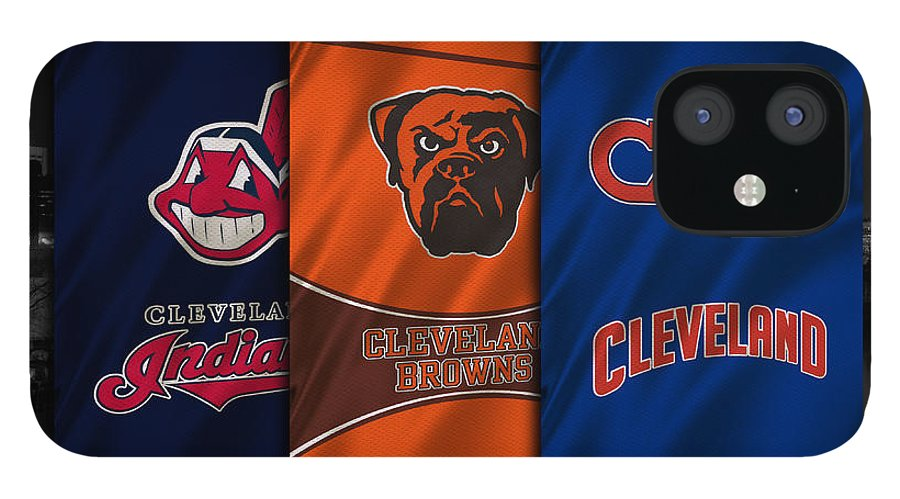 Indians IPhone 12 Case featuring the photograph Cleveland Sports Teams by Joe Hamilton