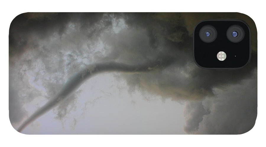 Thunderstorm IPhone 12 Case featuring the photograph Close Enough by Nzp Chasers