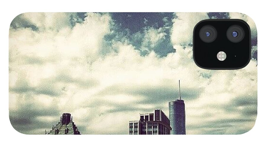 Cloud IPhone 12 Case featuring the photograph Clouds by Jill Tuinier