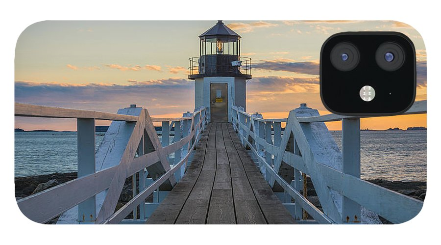 Maine IPhone 12 Case featuring the photograph Colorful Ending by Kristopher Schoenleber