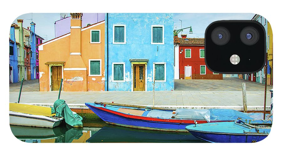 Tranquility IPhone 12 Case featuring the photograph Colourful Burano by Federica Gentile